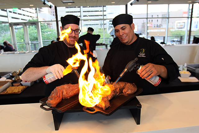 Culinary Crafts' Chef Torched Tenderloin
