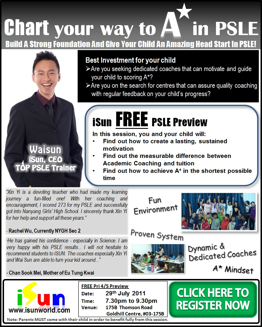 Free PSLE Preview