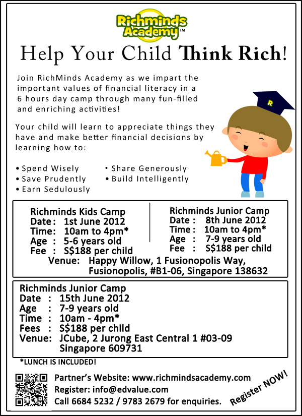 Help Your Child Think Rich!