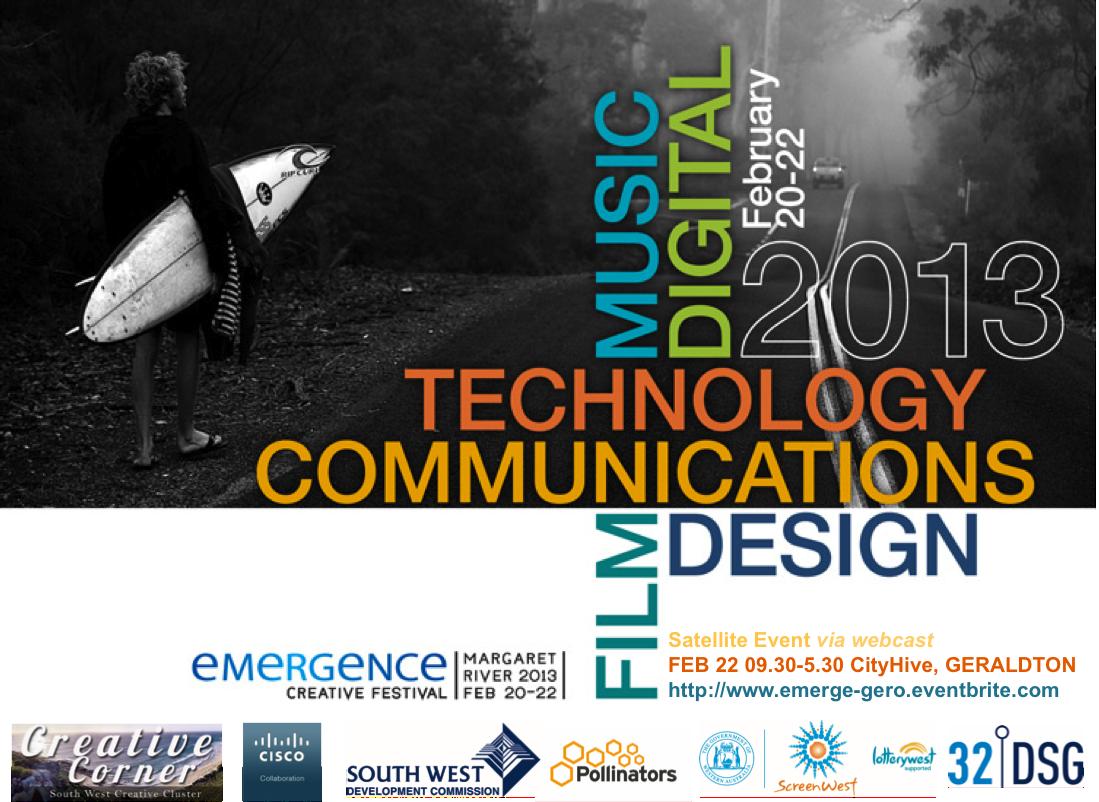 Emergence Creative Flyer