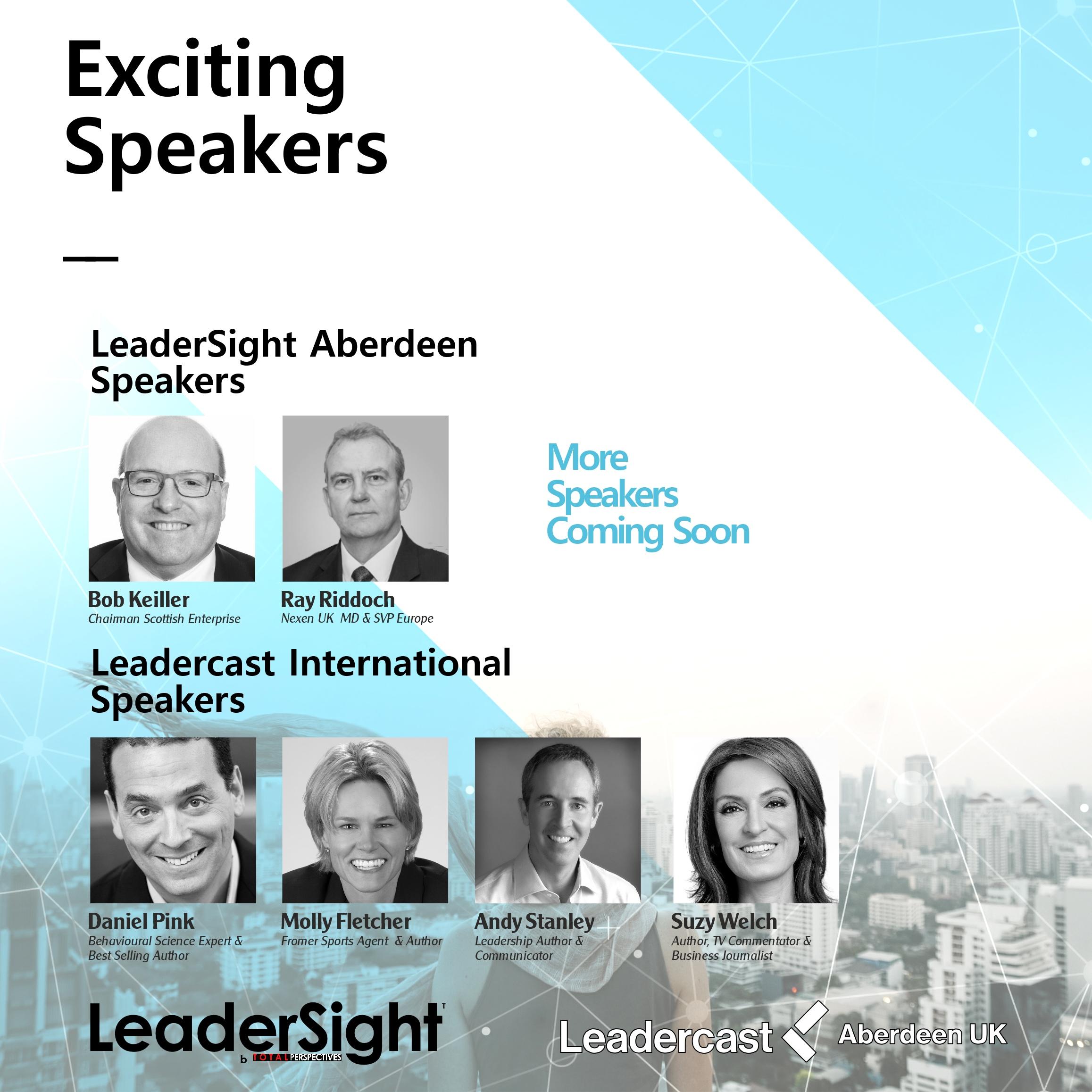 LeaderSight & Leadercast 2017 Aberdeen Speakers