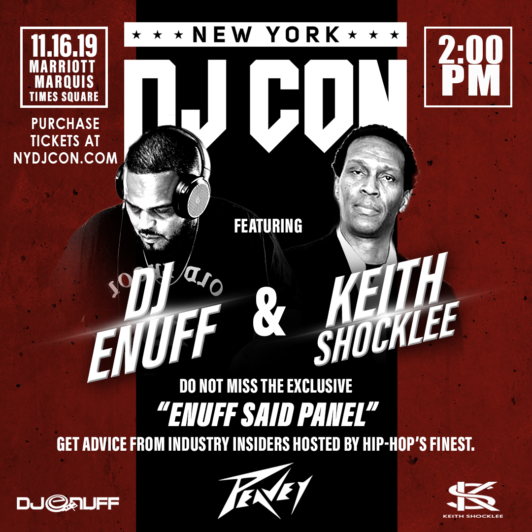 DJ Enuff and Keith Shocklee host