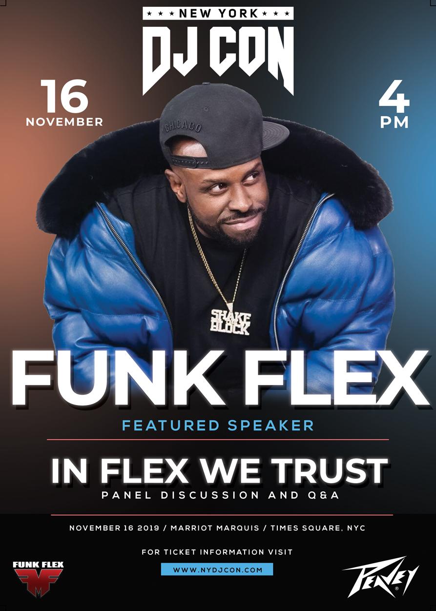 Funk Flex, DJ CON 2019