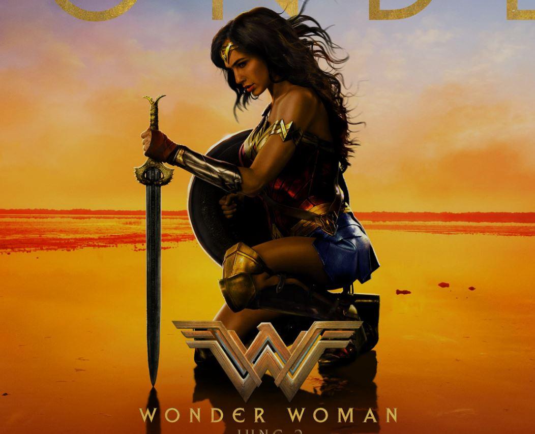 Wonder Woman starring Gal Gadot and Chris Pine