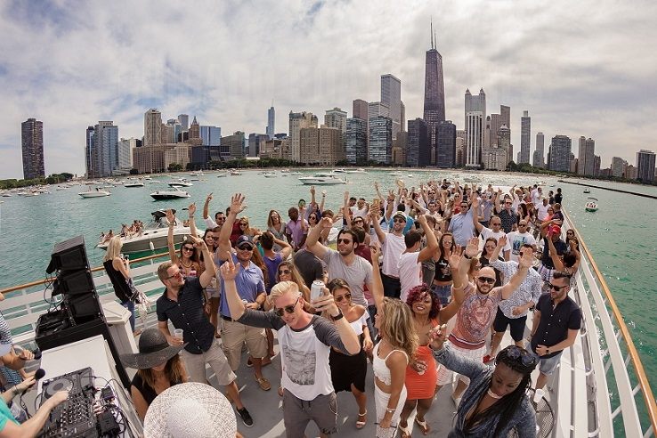 Chicago Boat Parties - Saturday July 13th, 2019