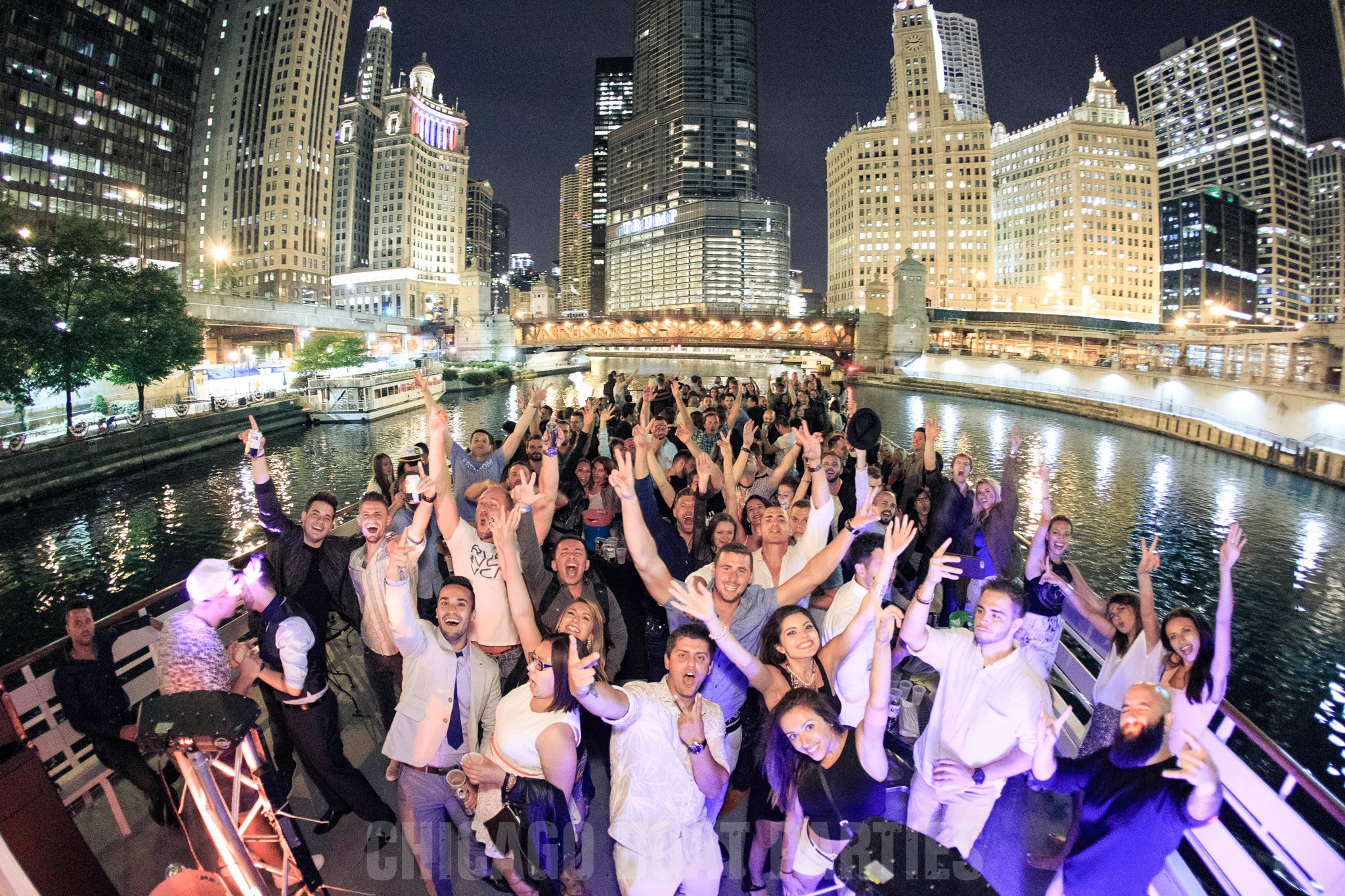 Chicago's Boat Party of Summer 2017 - Saturday, June 24th, 2017