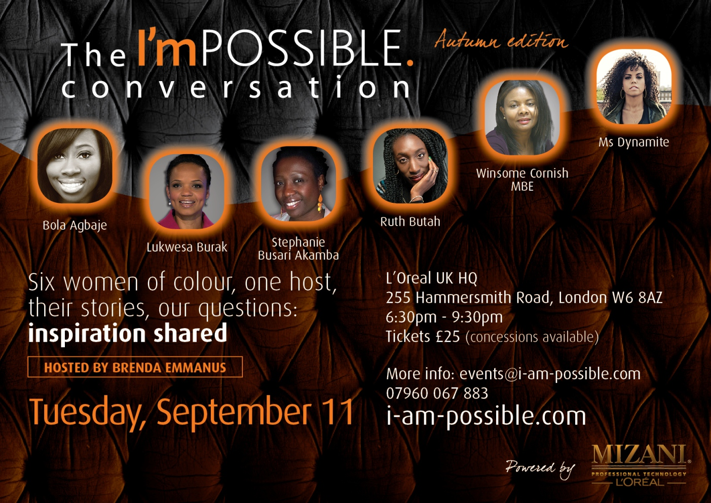 The I'mPOSSIBLE conversation, autumn edition, Sept. 11