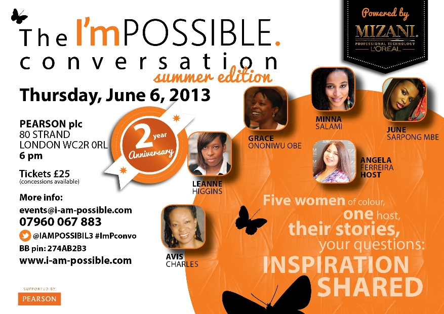 The I'mPOSSIBLE conversation summer edition 2013 - 2nd anniversary