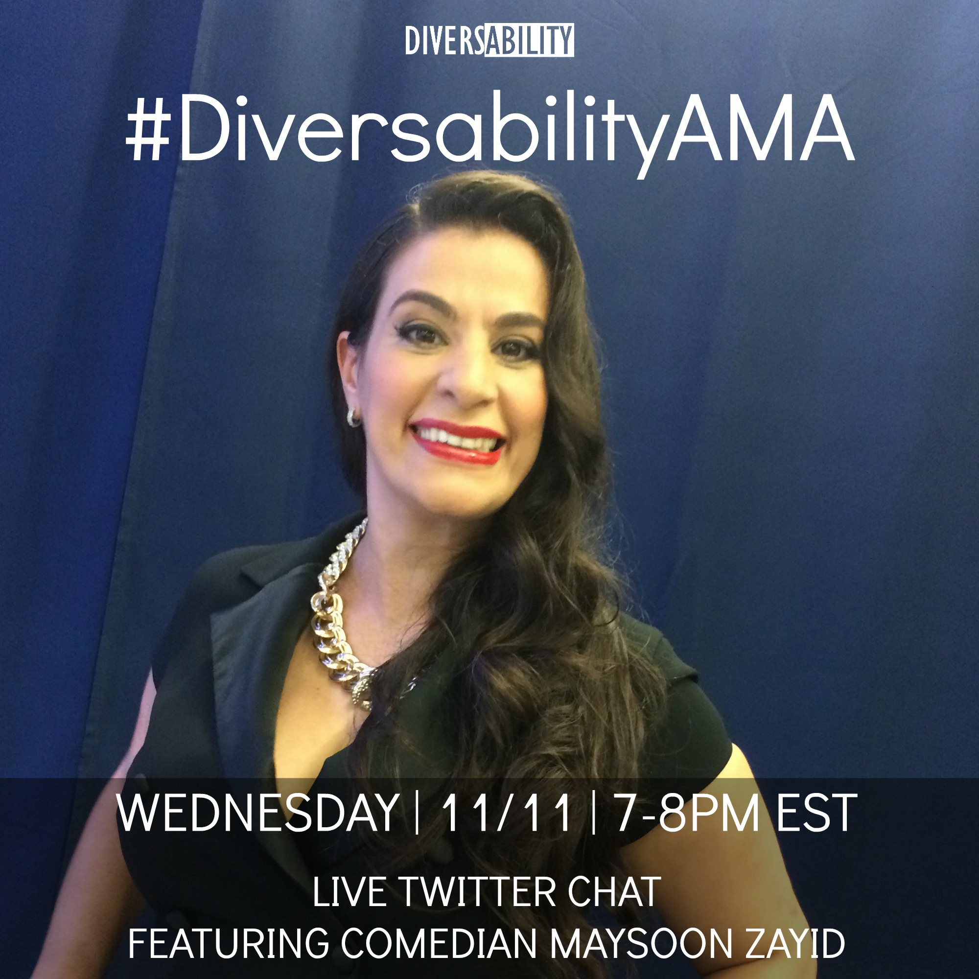 #DiversabilityAMA with Maysoon
