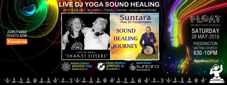 LIVE DJ YOGA SOUND HEALING FLOAT EVENT