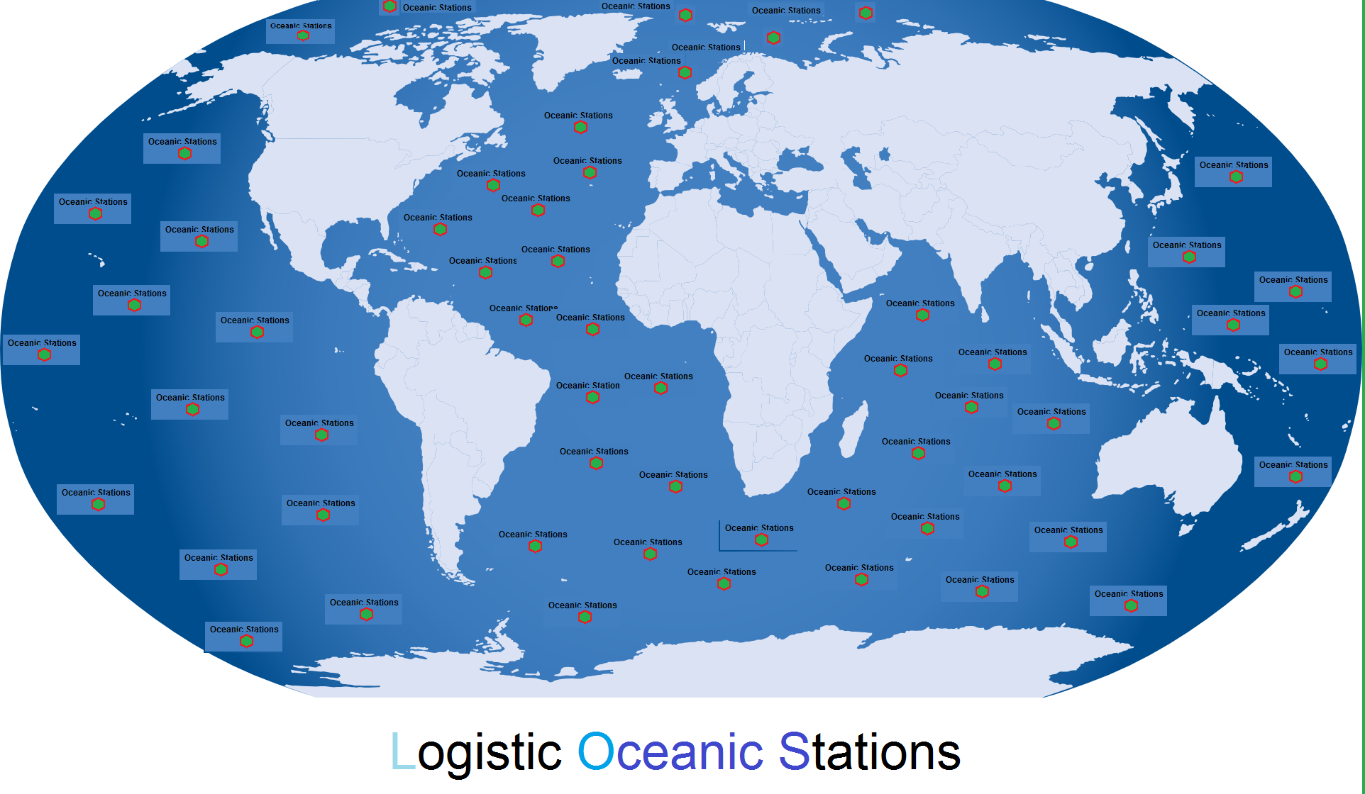 Los Logistic Oceanic Stations Plan
