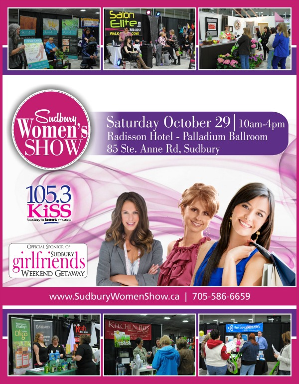 5th Annual Sudbury Women's Show - Fall edition