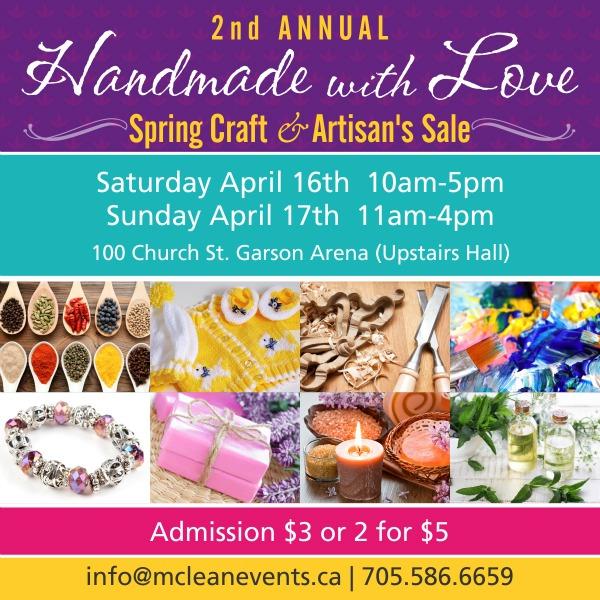 Sudbury Spring Craft & Artisan's Sale