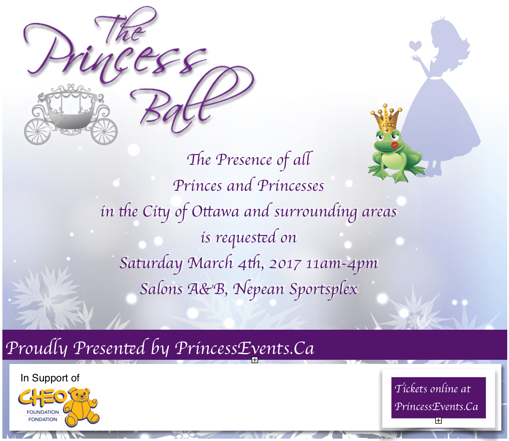 The Princess Ball Ottawa