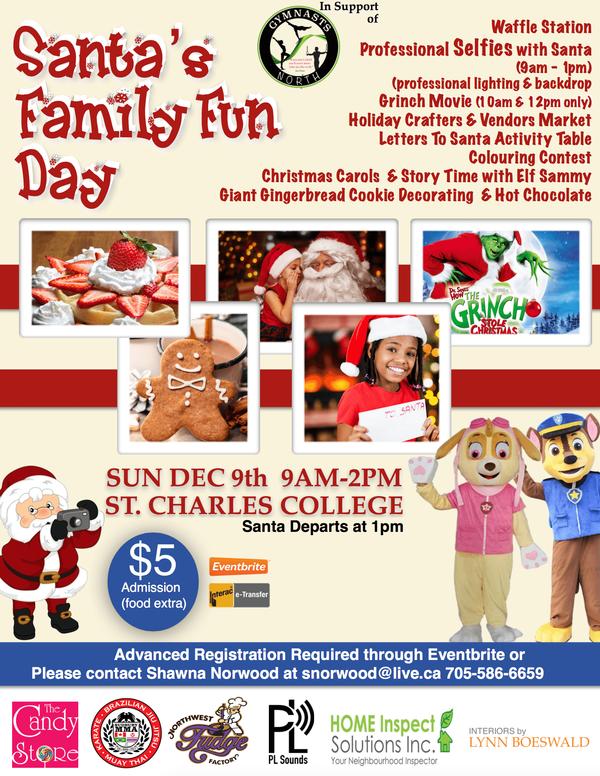 Santa's Family Fun Day Sudbury