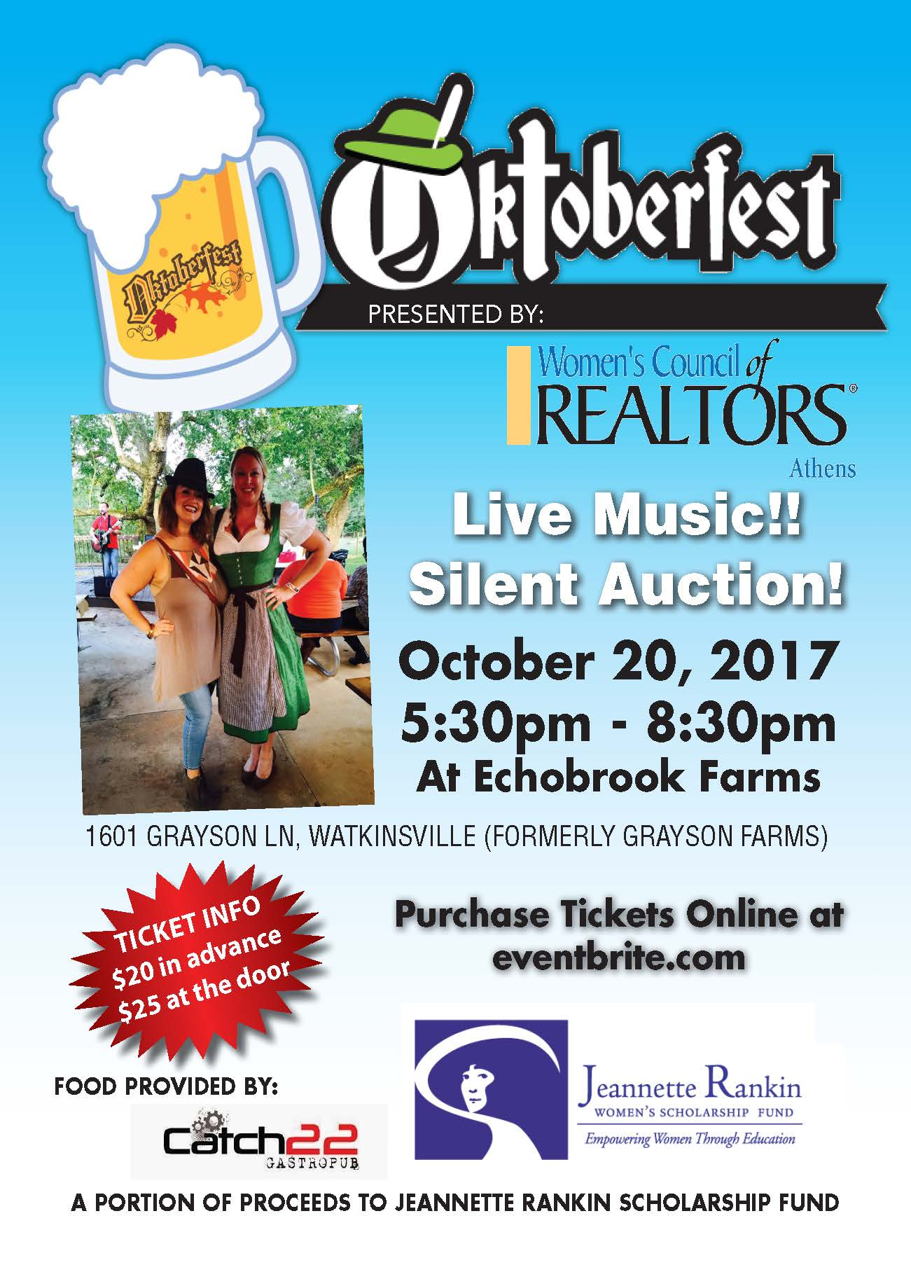 Oktoberfest 2017 Hosted by Athens WCR
