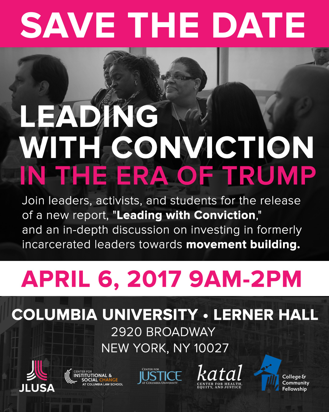 Leading with Conviction in the Era of Trump - April 6th, 2017