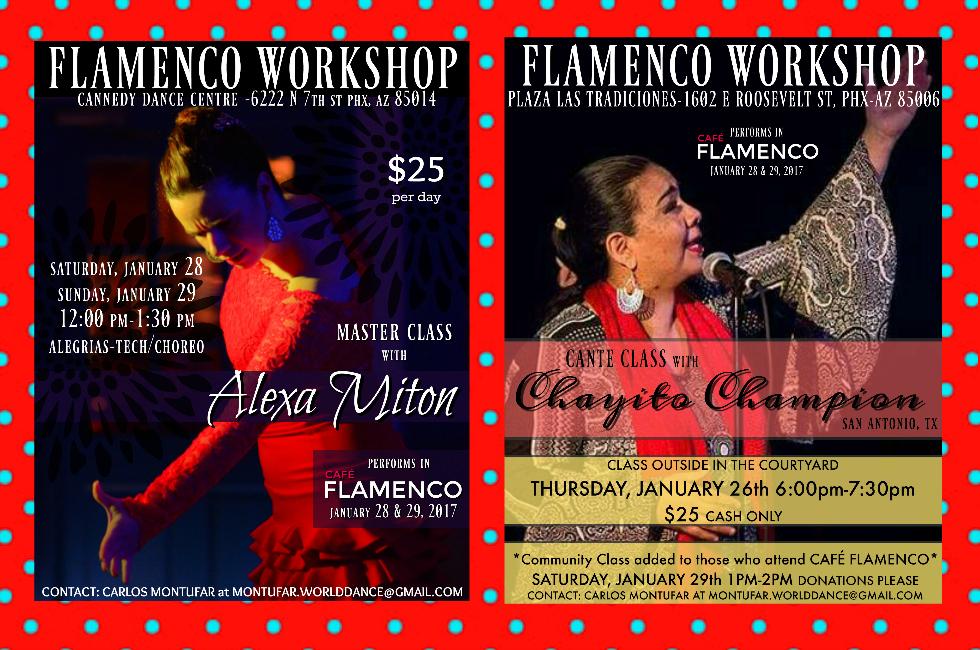 Café Flamenco workshops