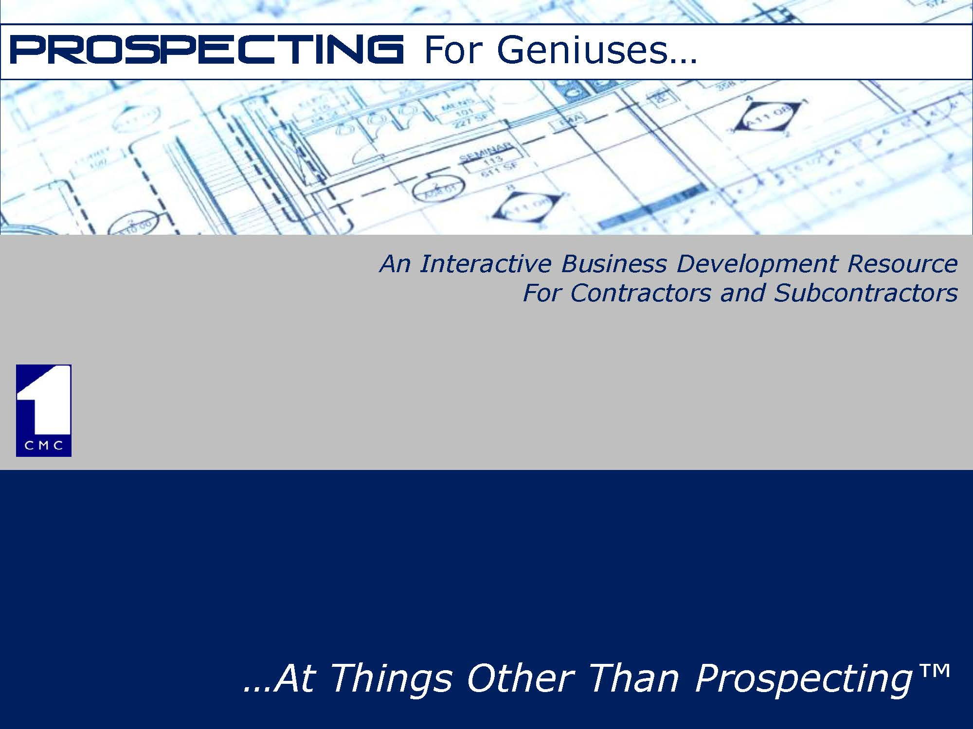 prospecting for geniuses darnell