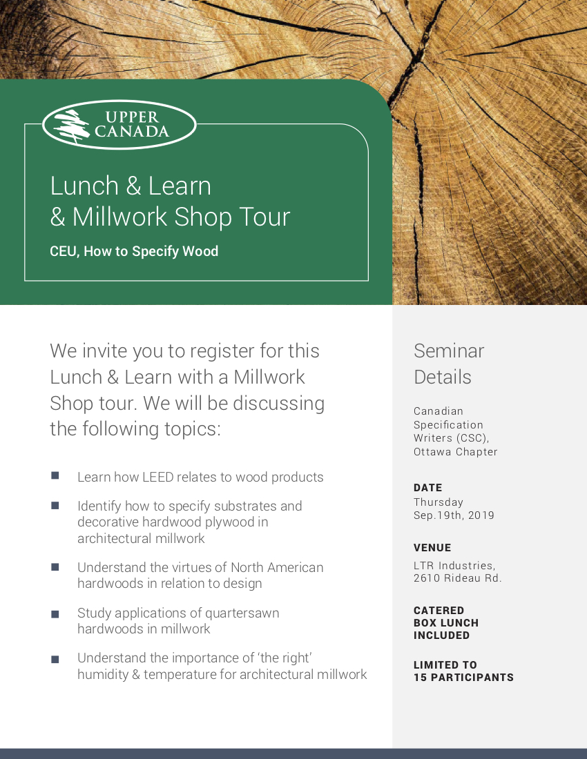 lunch and learn ltr