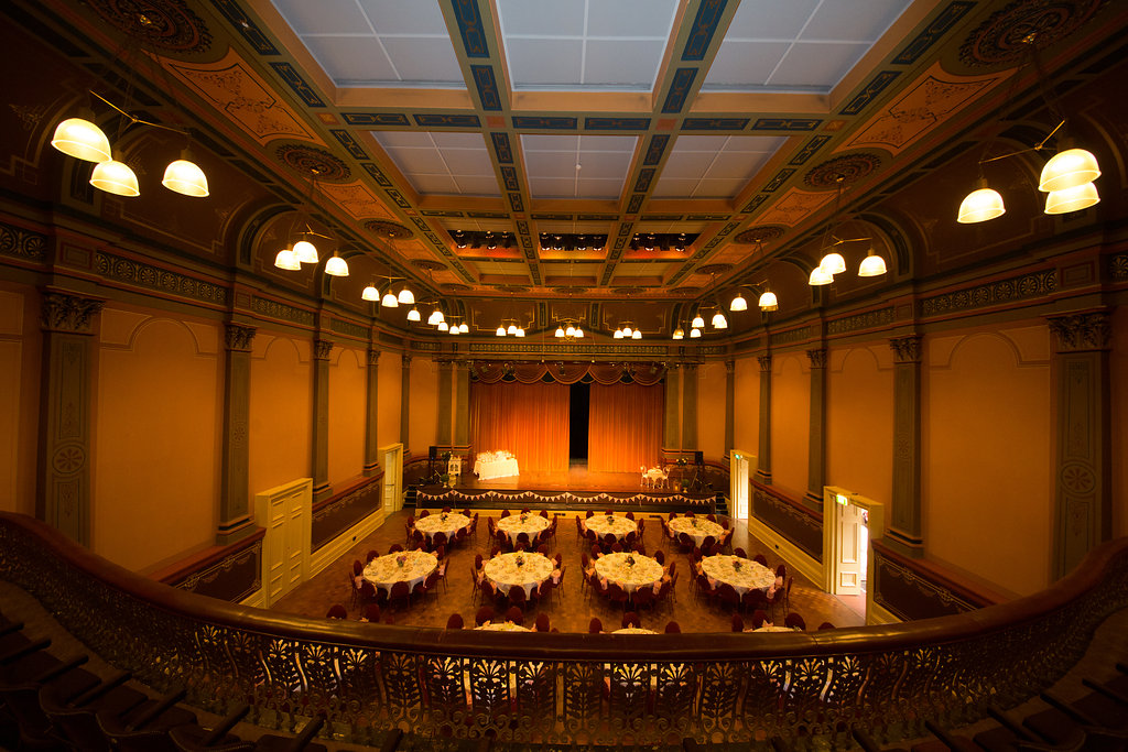 Inside the Fremantle Town Hall