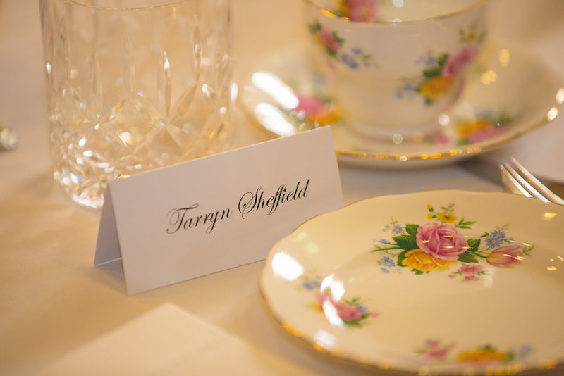 Your place setting