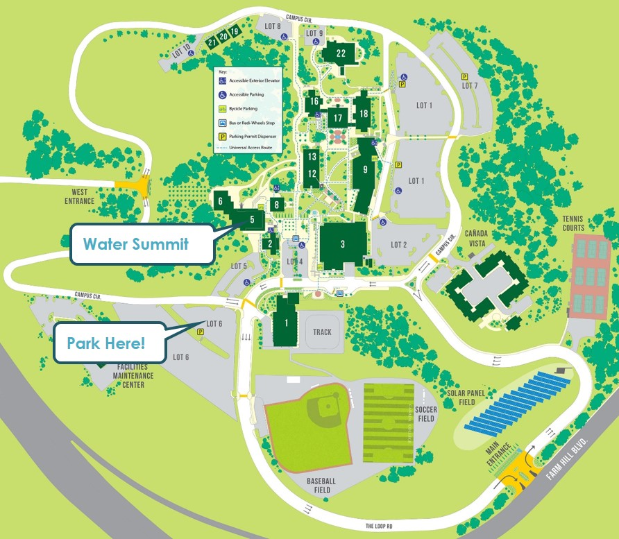Map of Canada College