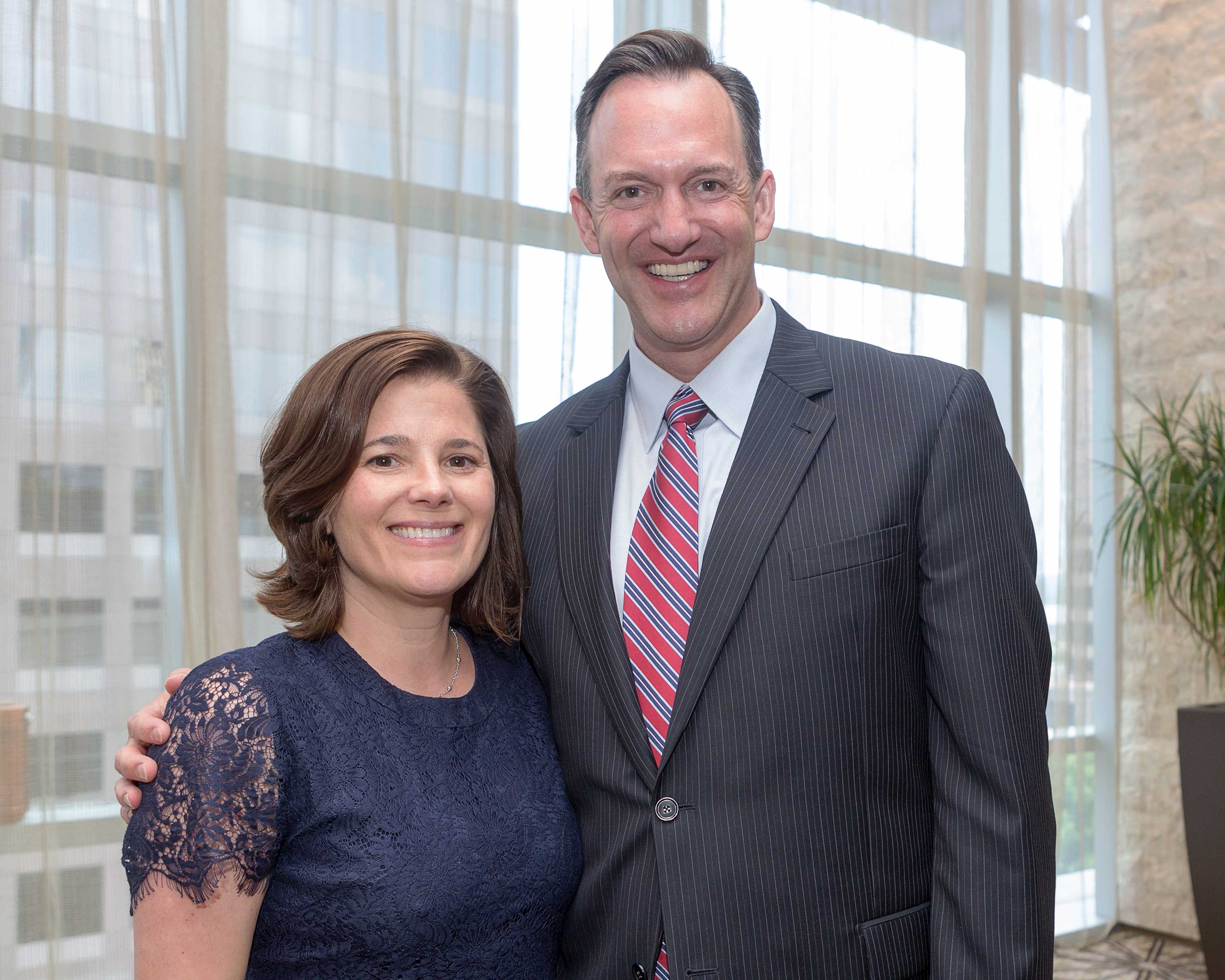 Thresa and Mike Nasi at the 2017 DTMG Luncheon