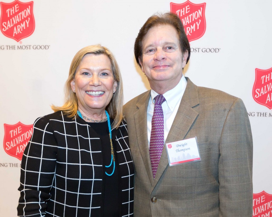 Cathy and Dwight Thompson at the 2016 DTMG Luncheon