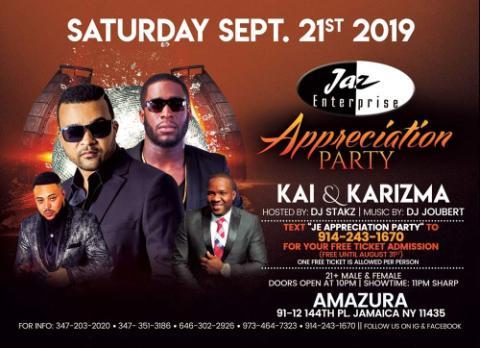 JE Appreciation Party Flyer