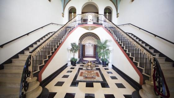 Scottish rites staircase
