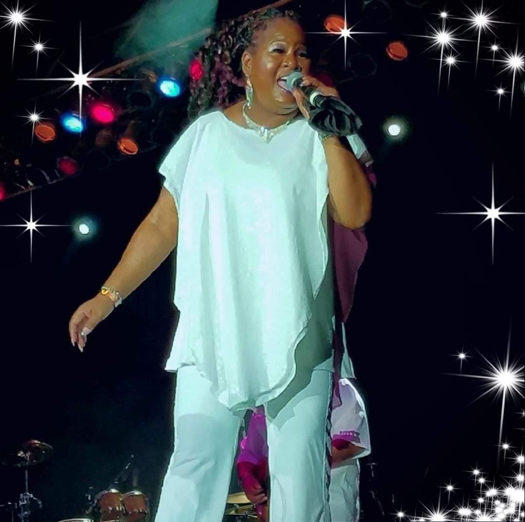 Yvette Cooke singing