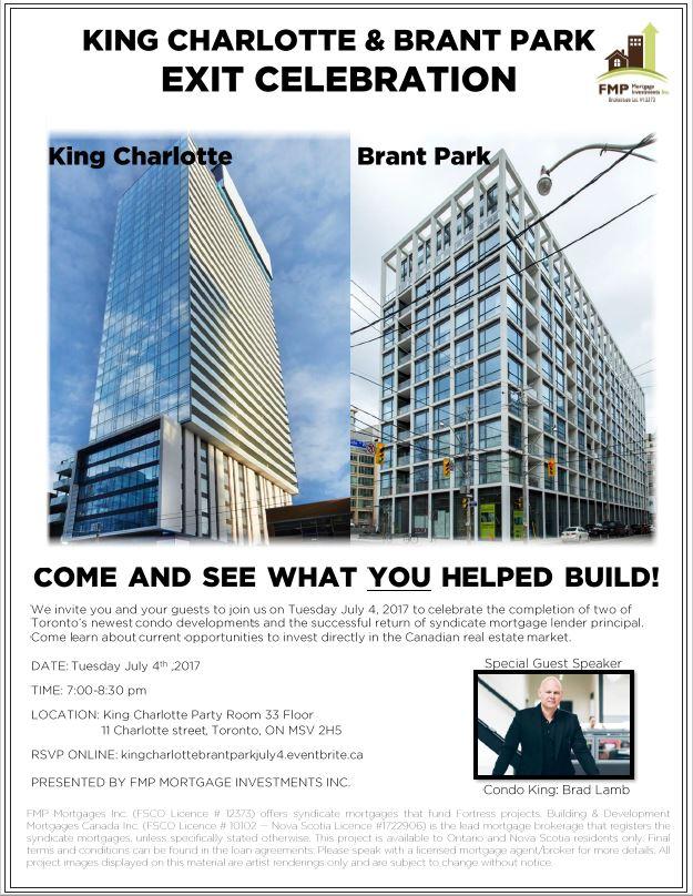King Charlotte Brant Park Exit