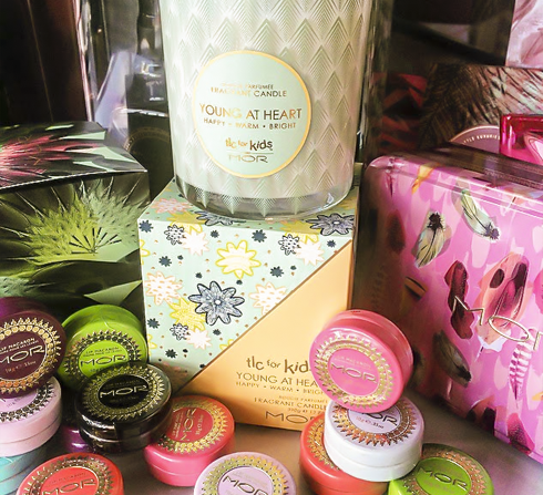 MOR candles & lip accessories