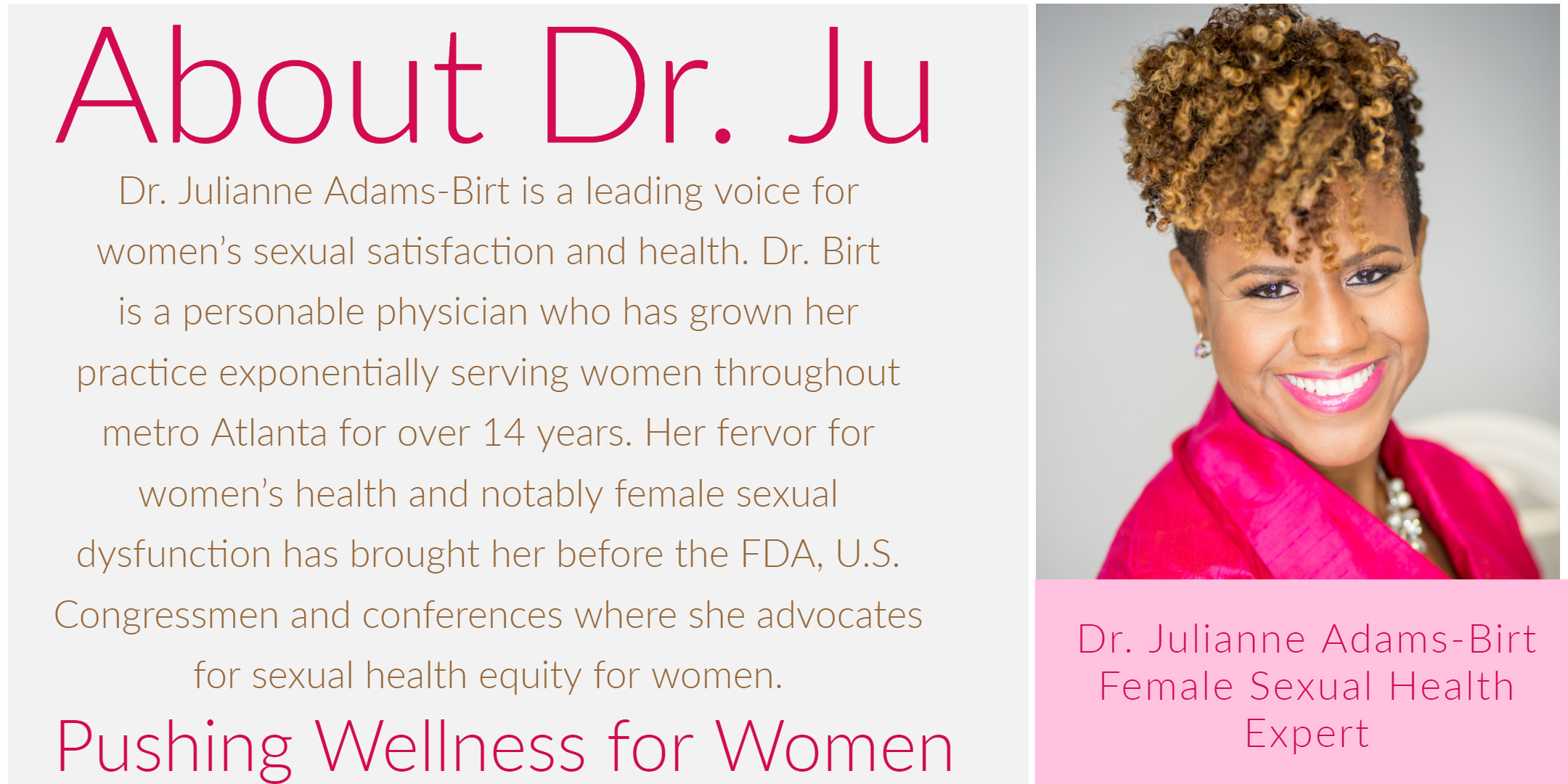 About Dr. Ju