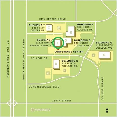 Map of CNO Campus