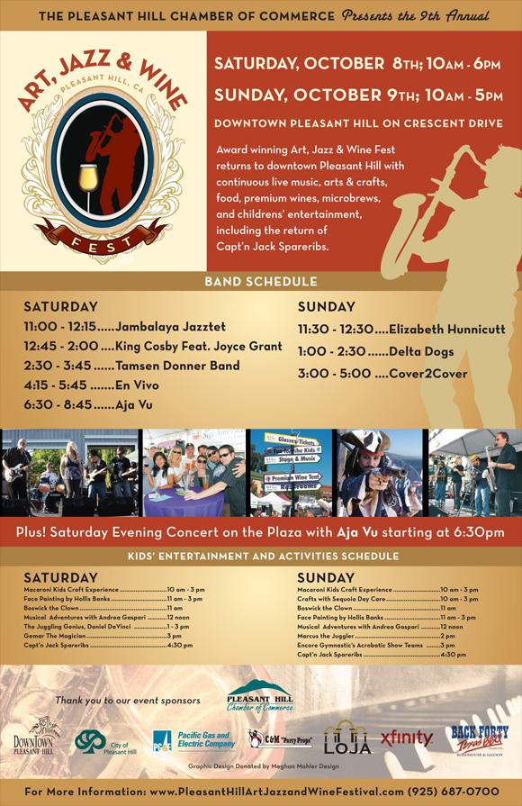 Pleasant Hill Art, Jazz & Wine Festival