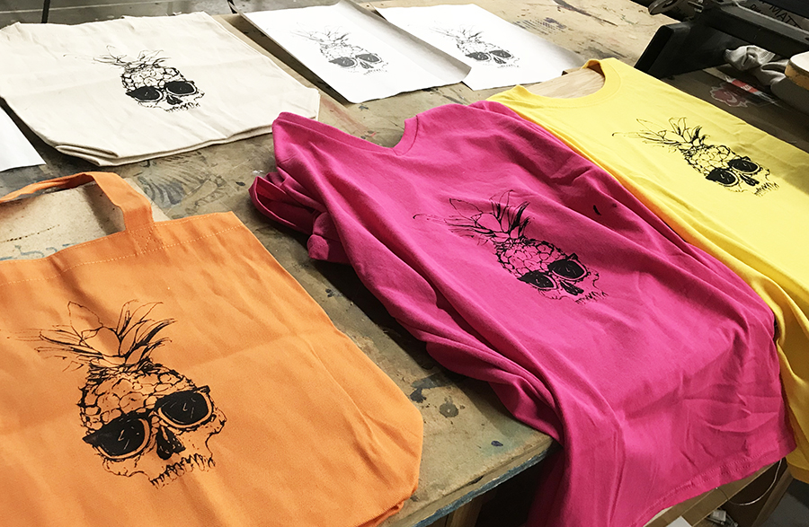 An Assortment of Cool Silk Screen Projects