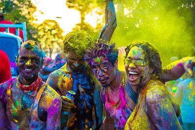 Splash J'ouvert Colors