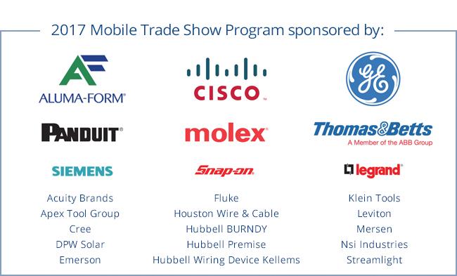 2017 Mobile Trade Show Program Sponsored by