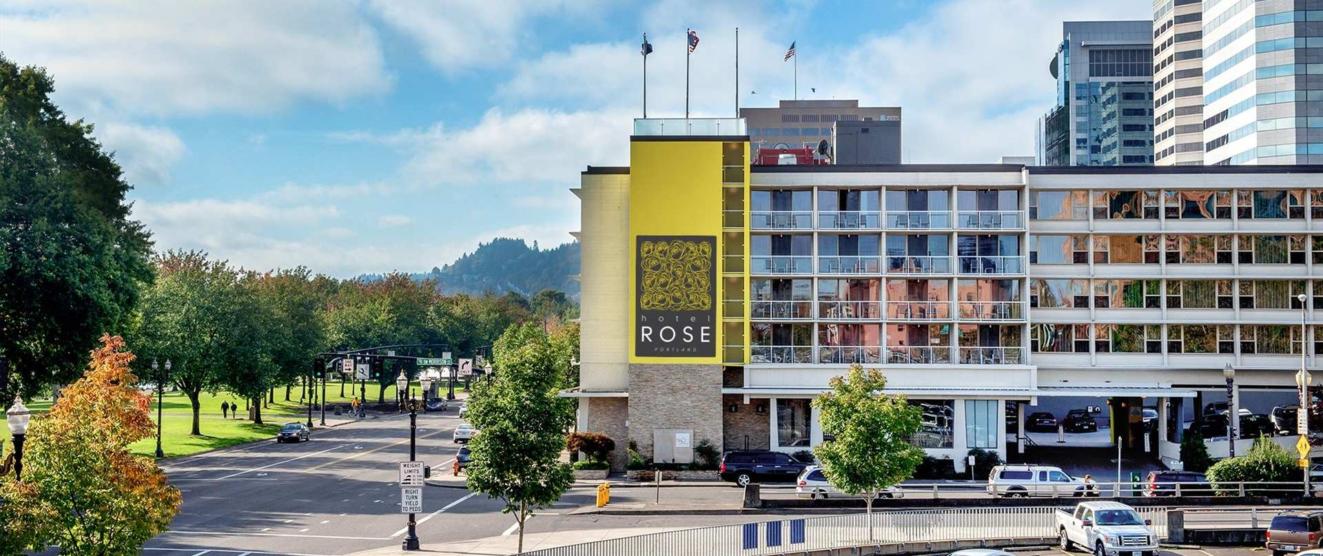 Photo of Hotel Rose on the river, it is also an easy walk to downtown Portland.
