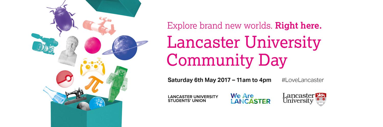 Lancaster University Community Day logo