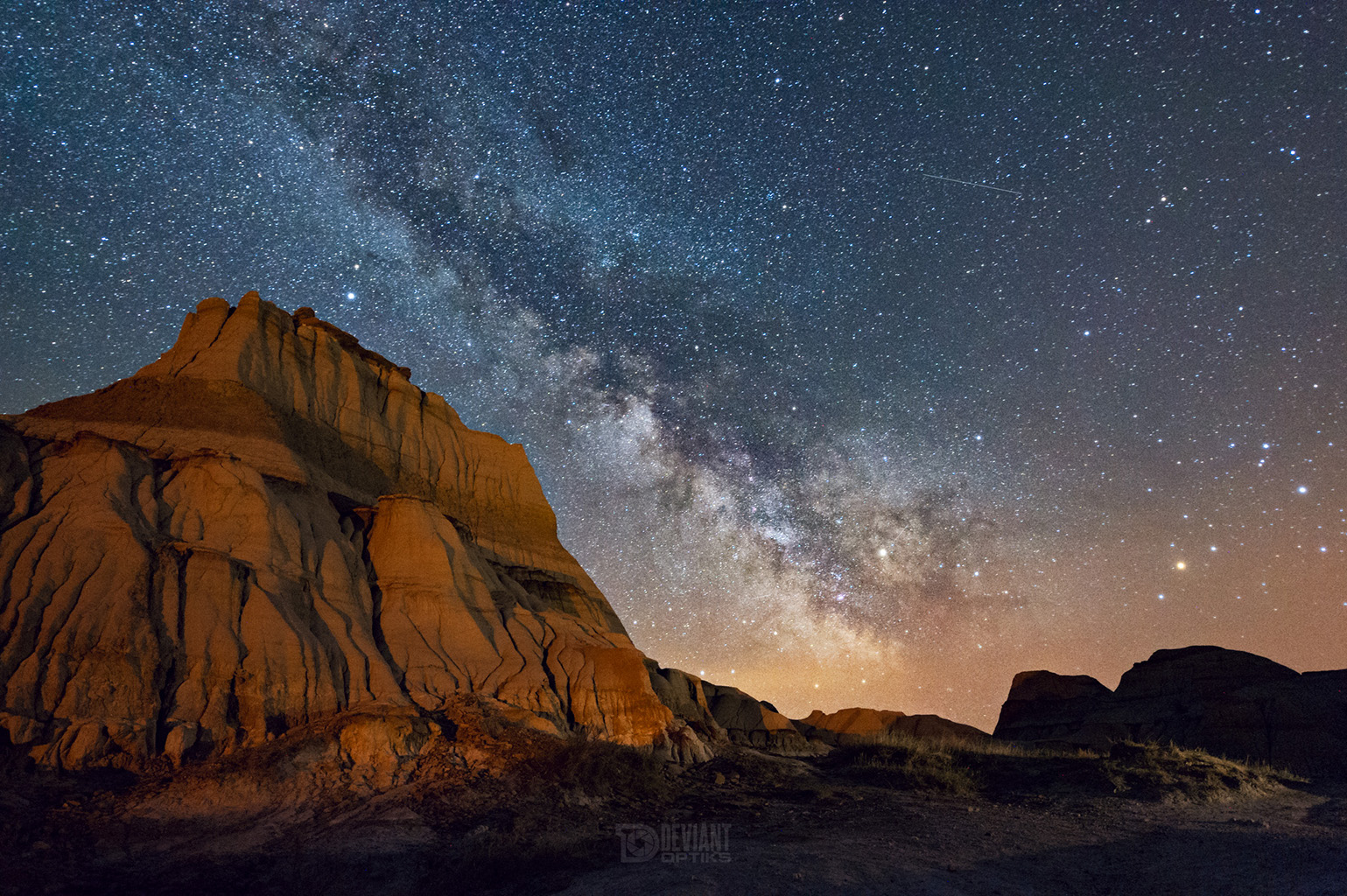 Milky Way at Dinosaur Provincial Park