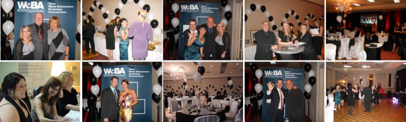 WeBA 2012 Gala collage