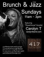 Brunch & Live Jazz w/Carolyn T