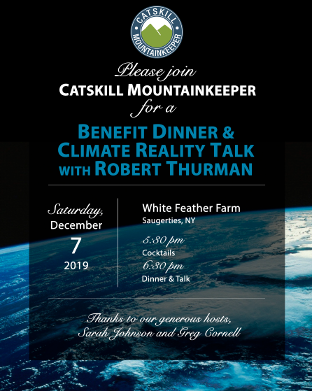 Climate Reality Talk with Robert Thurman Invite