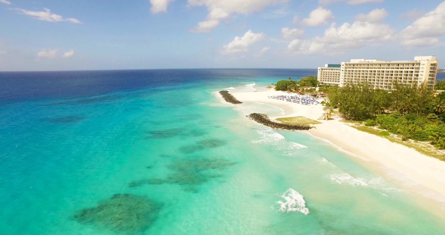 Hilton Barbados Birdseye