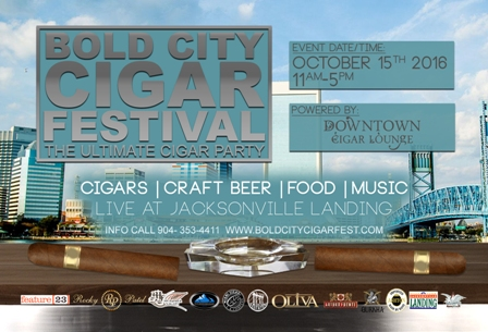 Bold City Cigar Festival Flyer