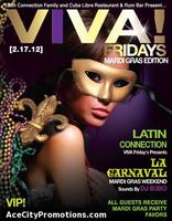 Any City @ Cuba Libre VIVA Fridays FREE Guest List