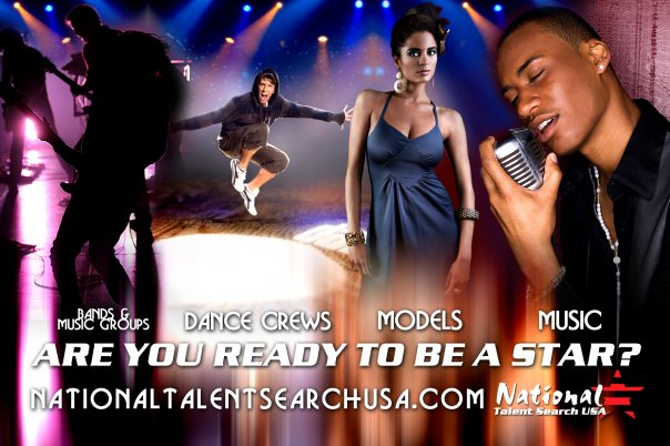 National Talent Search USA Banner
